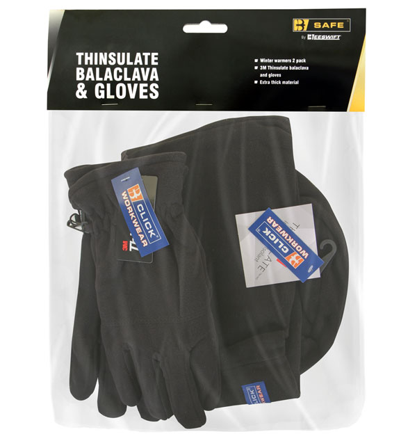 THINSULATE BALACLAVA & GLOVES  - BS205