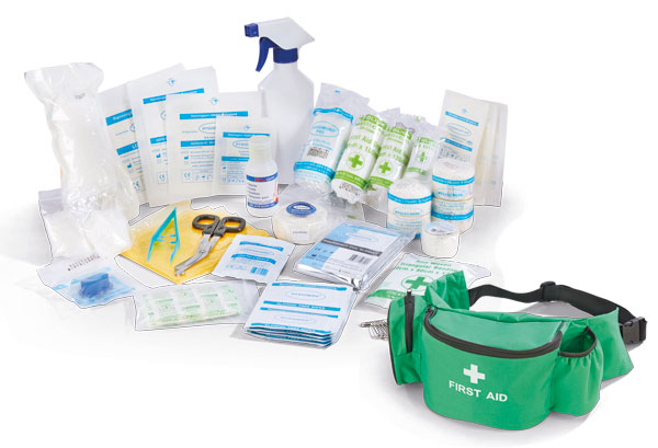 PERSONAL SPORTS FIRST AID KIT IN BUMBAG - CM0060