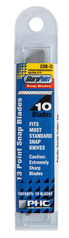 REPLACEMENT 13 POINT SNAP BLADES - CSB-32