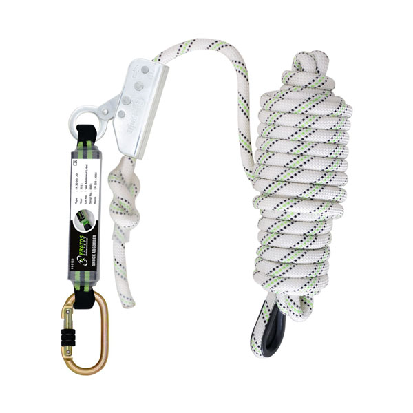 FALL ARRESTER ON KERNMANTLE ROPE 10 MTR - HSFA2010210