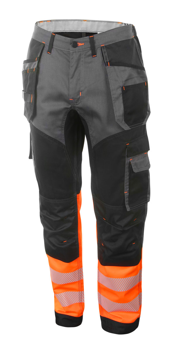 HIVIS TWO TONE TROUSERS - HVTT080ORBL