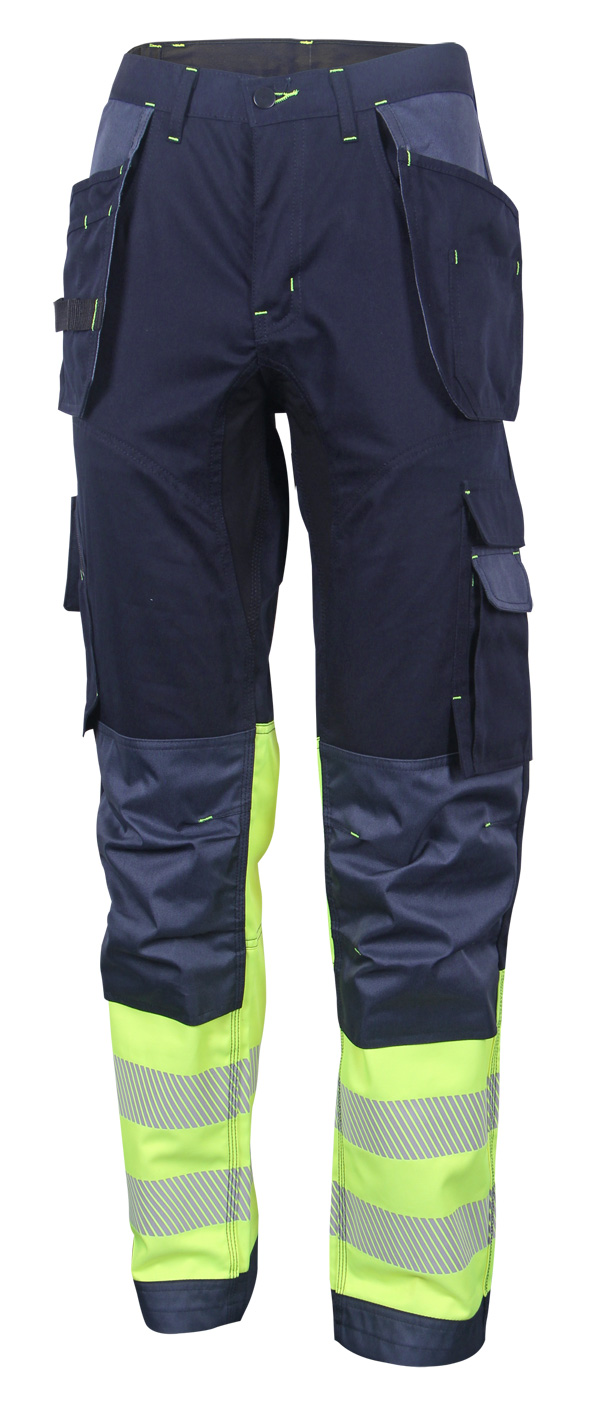 HIVIS TWO TONE TROUSERS - HVTT080SYN