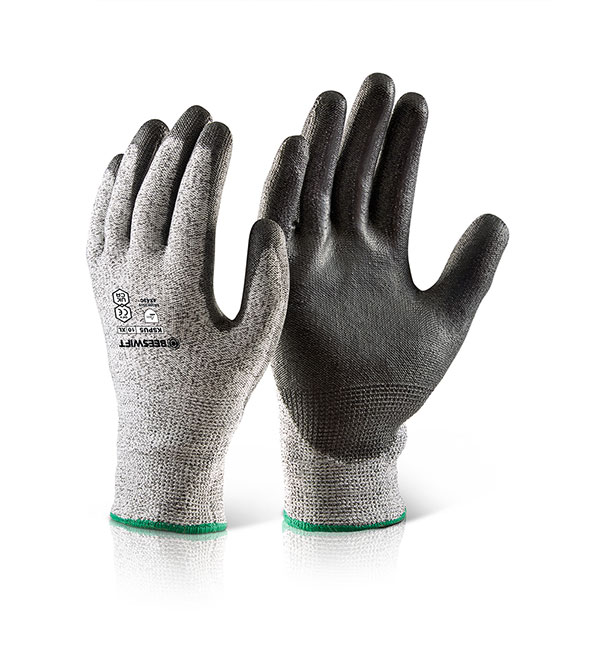 PU COATED CUT 5 GLOVE - KSPU5